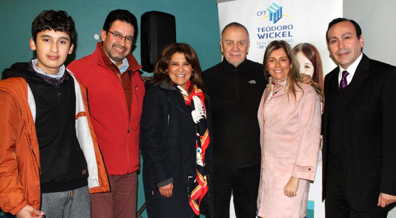 Charla magistral Oscar Cáceres - Temuco